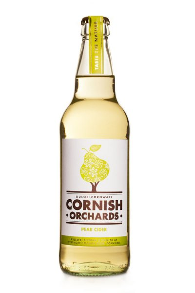 Cornish Orchards pear cider gemaakt door Cornish Orchards