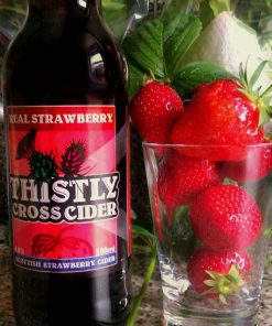 Thistly Cross Strawberry Cider gemaakt door Thistly Cross Cider