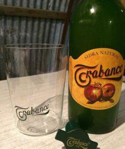 Sidra glas Trabanco gemaakt door Sidra Trabanco