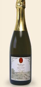 Nizza, mousserende apfelwein gemaakt door Weidmann & Groh