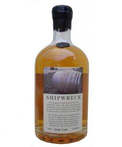 Shipwreck apple brandy gemaakt door The Somerset Cider Brandy Company